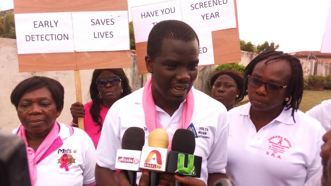 Manya Krobo area records high breast cancer cases -Dr Arhinful