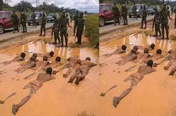 Operation Vanguard denies molesting arrested illegal miners