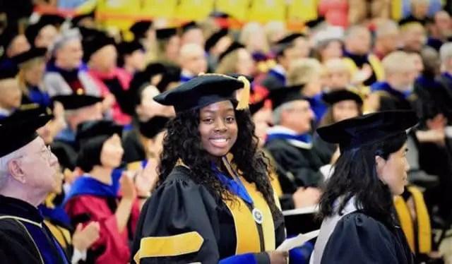Meet Ghana's 27-year-old PhD holder Gloria Opoku-Boateng Osardu