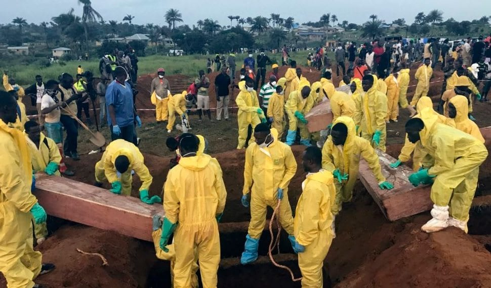 Mass burial for 120 bodies unclaimed at police hospital