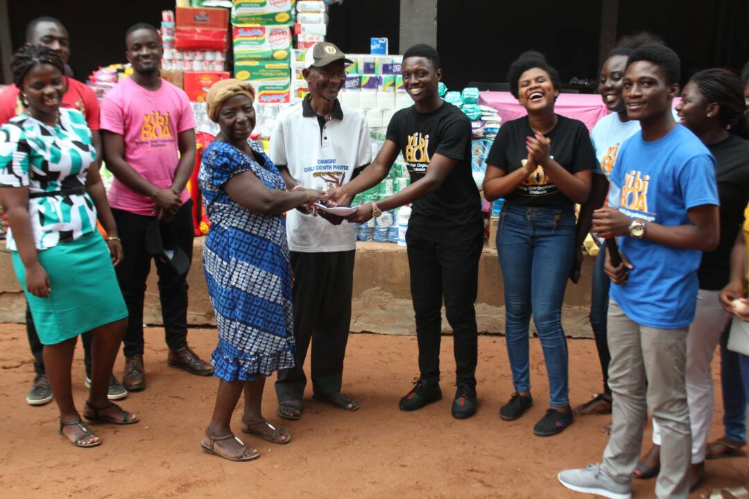 Legon Students Donate to Orphanage