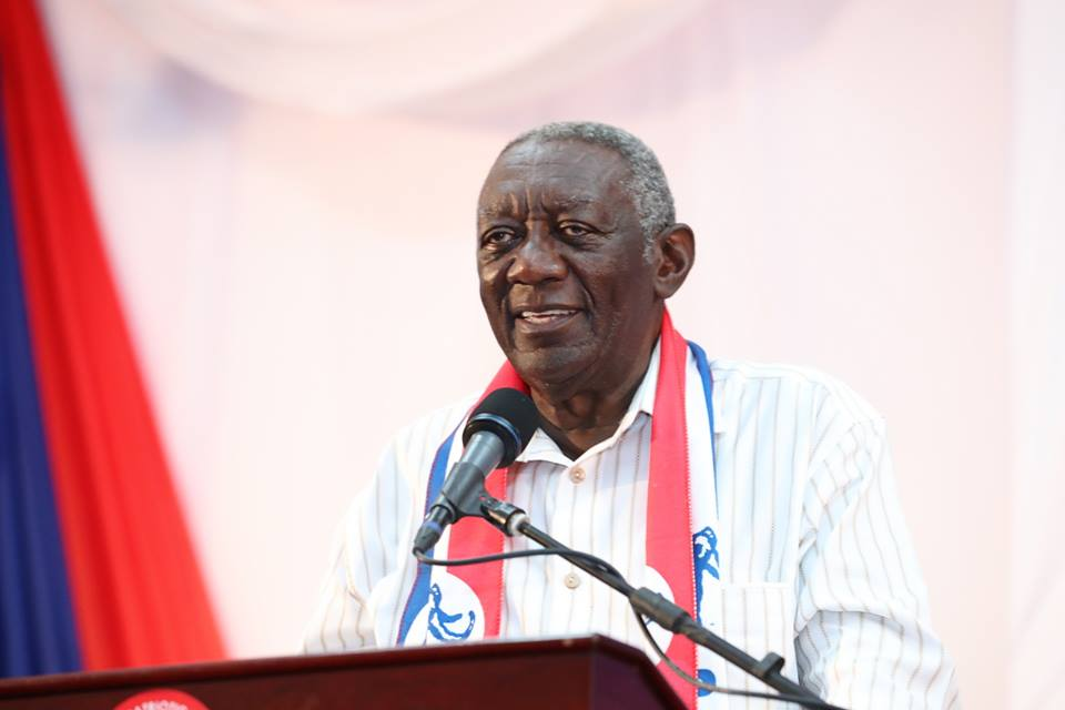 Kufuor, 1st Lady missing at NPP extraordinary delegates conference