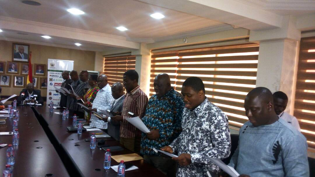 Energy Minister Inaugurates Electricity Market Oversight Panel Members