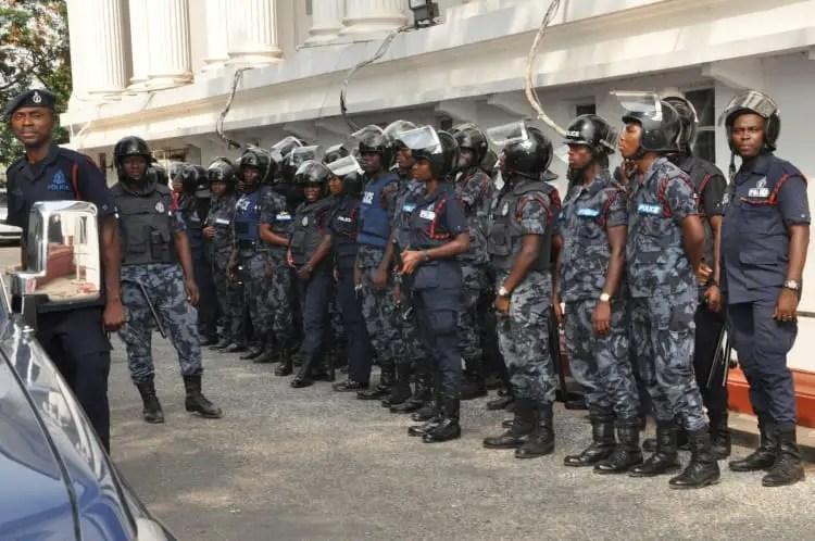 CAF 'nails' Ashaiman Police