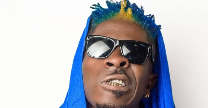 Shatta Wale's new look causes stir on social media