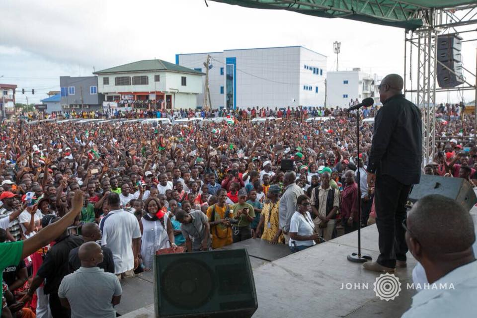 NDC is the only citizen-friendly political party in Ghana-Mahama