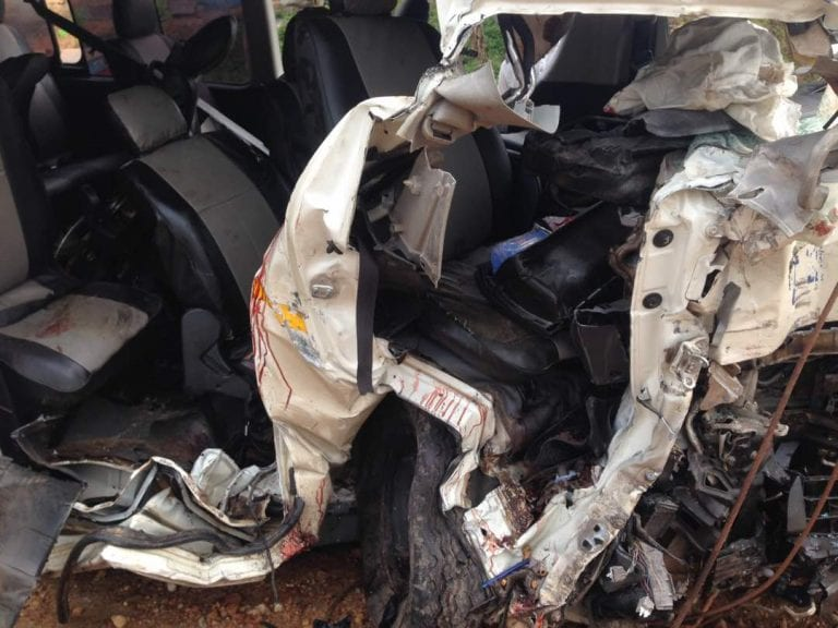 Gory accident takes lives of six