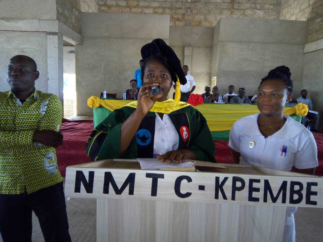 Have a positive attitude towards nursing-Kpembe Principal