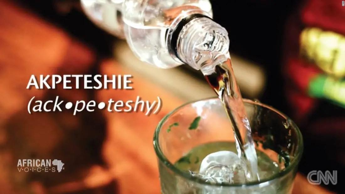 Man dies in GH¢30 'Akpeteshie' drinking bet