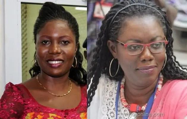 Rachael Appoh and Ursula Owusu 'fight' over Ebony's vote