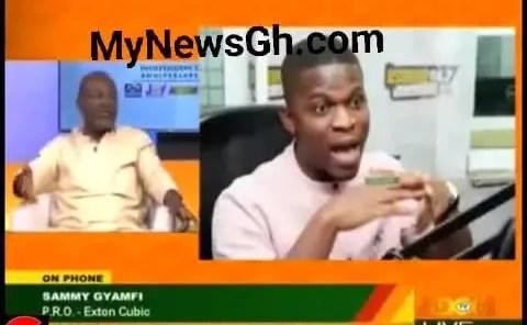 Video: Ken Agyapong and NDC's Sammy Gyamfi lock horns over Ibrahim Mahama