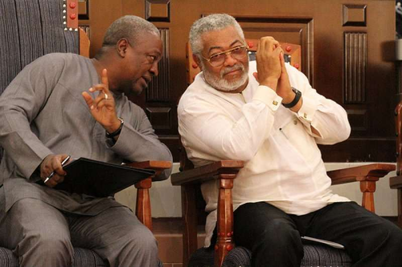 Rawlings, Mahama disgracing themselves on political platforms-Lawyer Boafo