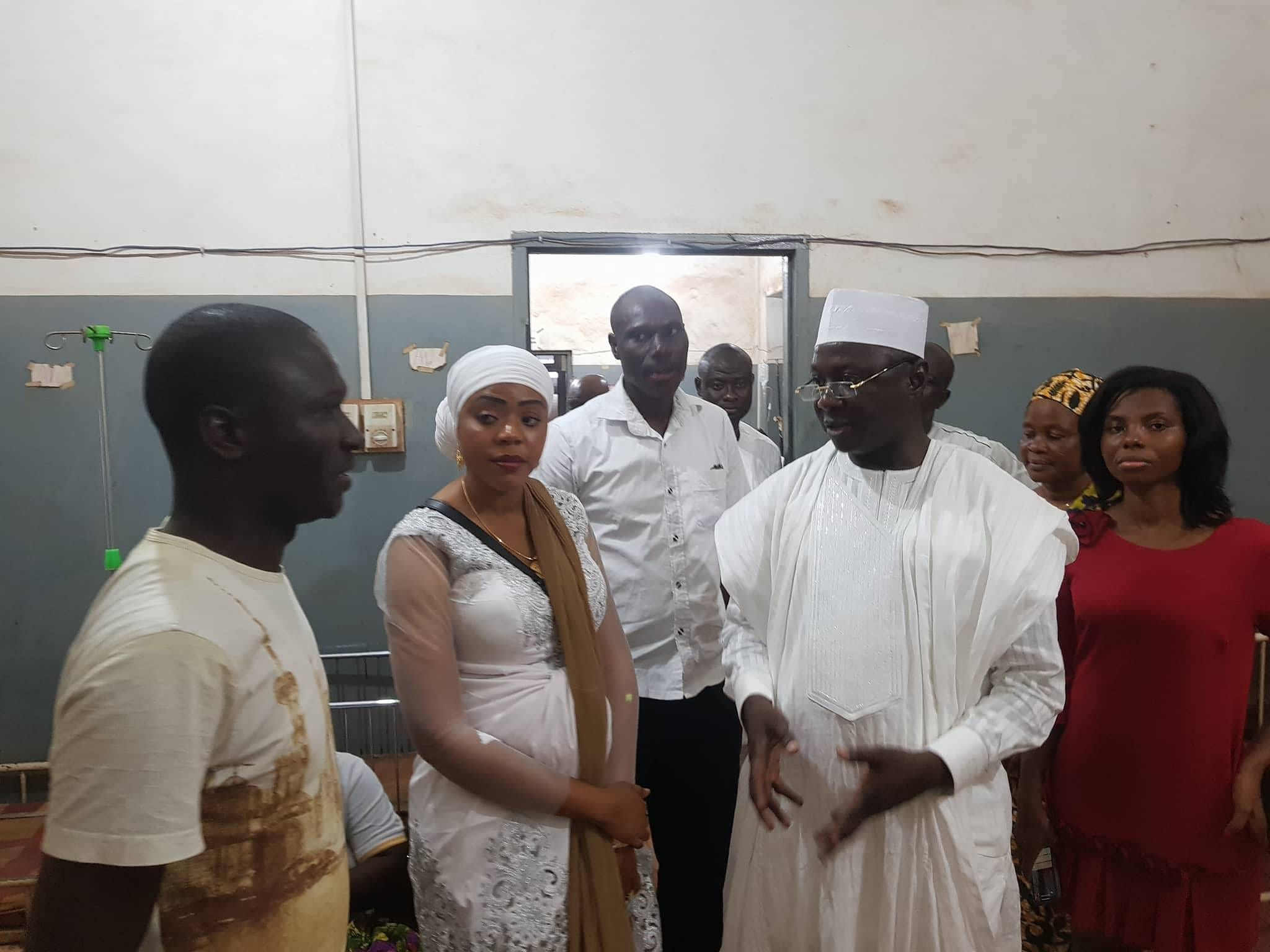 Minister marks 44th birthday with donation to Children's ward of Tamale West Hospital