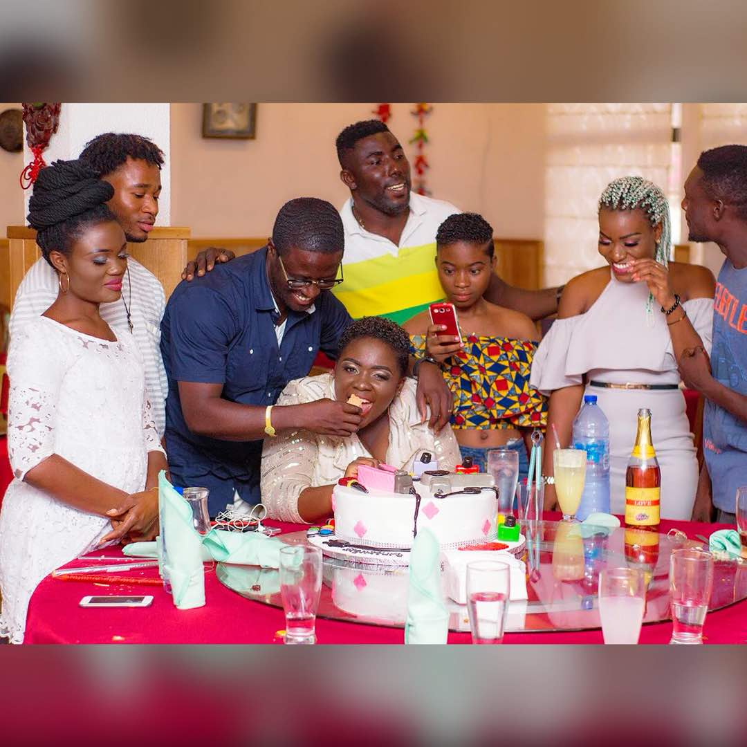 Tracey Boakye marks her Unisex Salon's 1st anniversary with workers' party