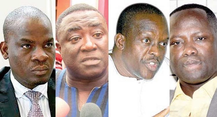 Don't use presidential staffers to divert attention from double salary saga-NPP executive