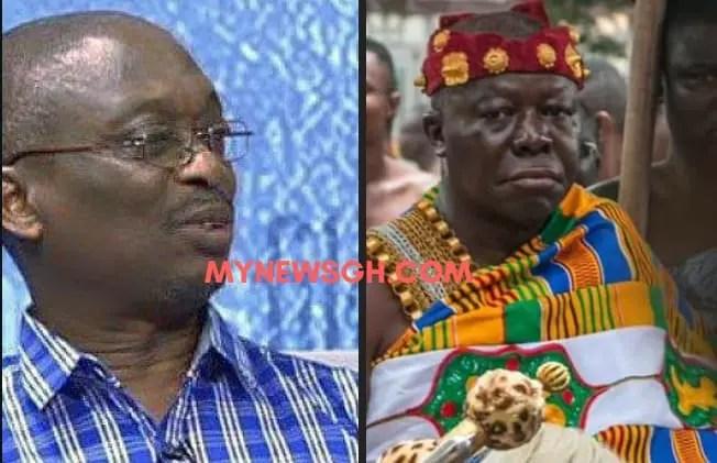 I'll never disrespect Otumfuo; I just don't kneel before humans'- Kwaku Baako clarifies