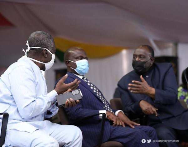 Trade Minister, Alan Kyerematen has commended Leader of Government Business in Parliament Osei Kyei-Mensah-Bonsu for the excellent manner that he read the 2021 budget statement on behalf of the Finance Minister in parliament on Friday March 12