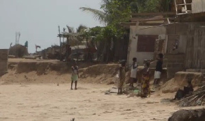 Agavedzi is a fishing community and has a population of some 2,000 people