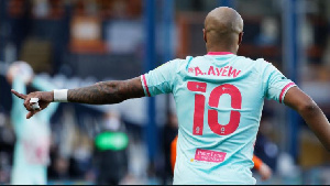 Andre Dede Ayew was the Swansea City Vice captain in the 2020/2021 season