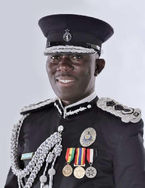 George Akuffo Dampare, Newly appointed Inspector General of Police
