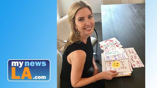Ivanka Trump And Mail From Children