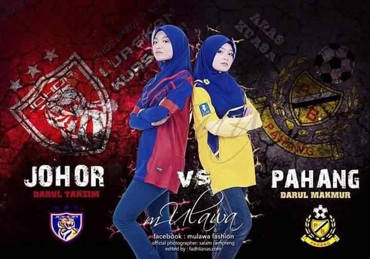 jdt vs pahang , logo pahang vs jdt 2015, piala fa jdt vs pahang 2/3/2015