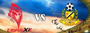 pahang vs lions xii, poster pahang vs Lions xii , piala malaysia pahang vs Lions XII ,