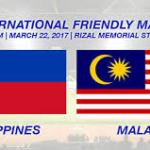 Live streaming malaysia vs Philippines friendly match 22.3.2017