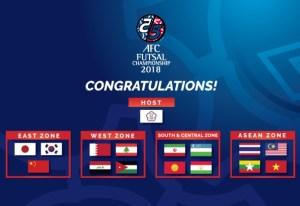 afc futsal 2018, afc futsal championship 2018,