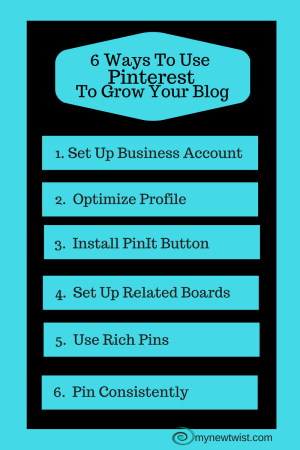 6 Ways To Use Pinterest Grow Your Blog