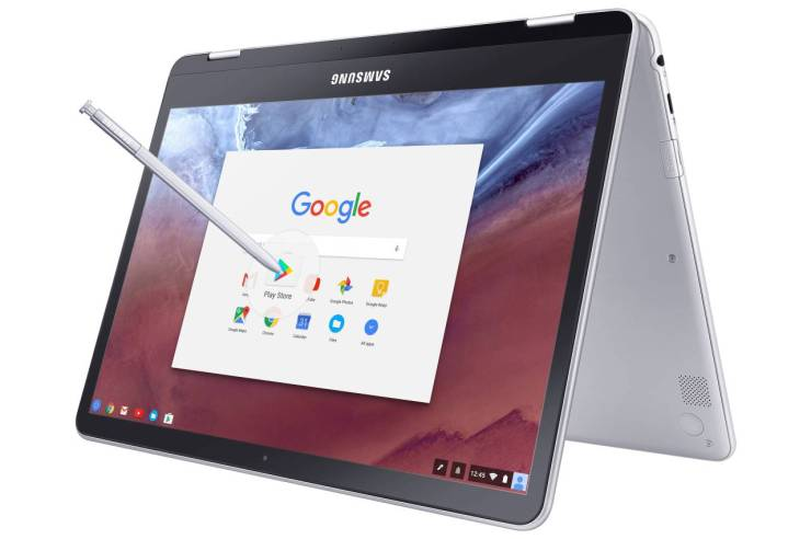 Samsung Chromebook Pro and Plus Convertibles