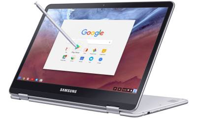 Samsung Chromebook Pro and Plus with Stylus