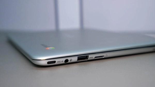 ASUS Chromebook Flip C101 Ports
