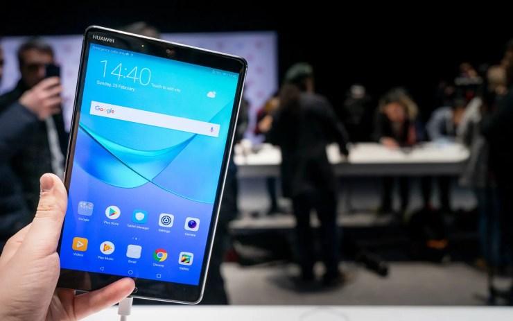 Huawei MediaPad M5 8 Hands On