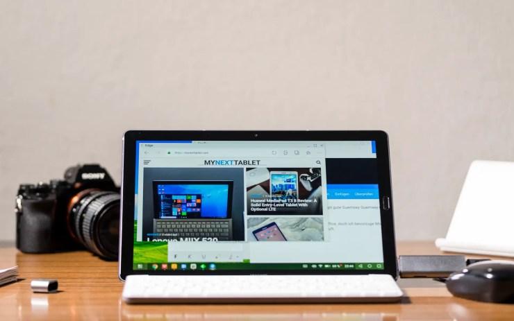 Huawei MediaPad M5 10 Desktop Mode