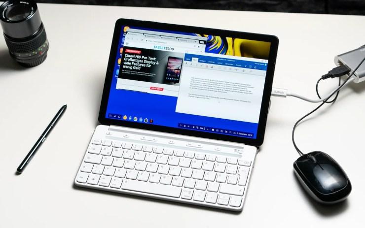 Samsung Galaxy Tab S4 with Samsung Dex
