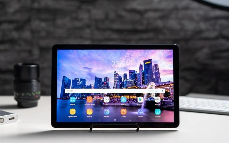 Samsung Galaxy Tab S4 test