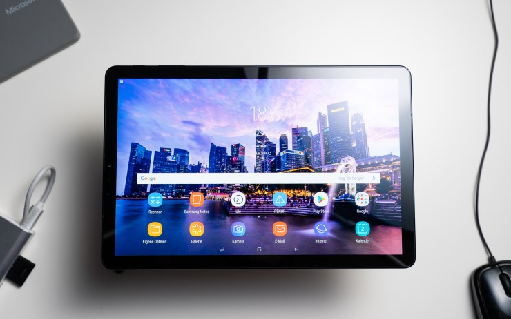 Samsung Galaxy Tab S4 tested