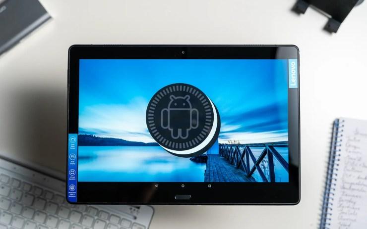 Lenovo Tab P10 with Android 8.1 Oreo