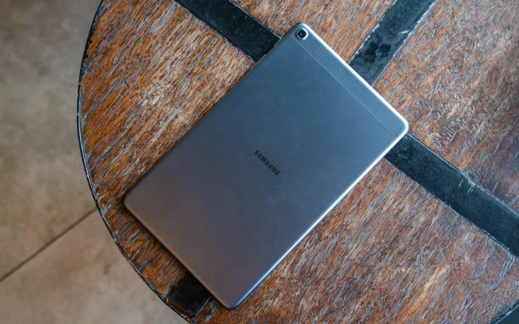 Samsung Galaxy Tab A 10.1 2019 on a table