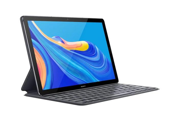 Huawei MediaPad M6 with keyboard