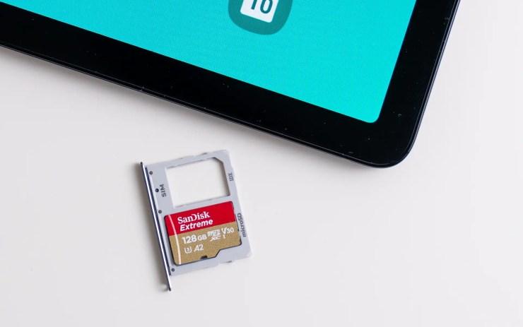 MicroSD for Samsung Galaxy Tab S5e