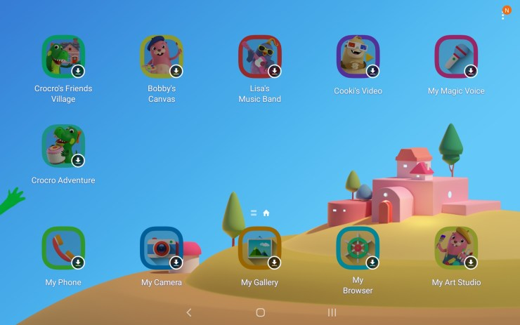 Samsung Galaxy Tab A 2019 Kids Mode