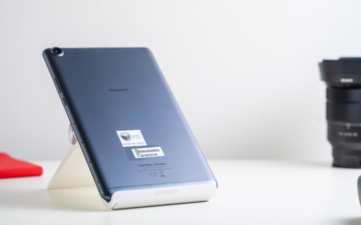 Huawei MediaPad M5 Lite 8 with metal body
