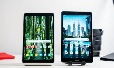 Samsung Galaxy Tab A 8 with S Pen vs Huawei MediaPad M5 Lite 8
