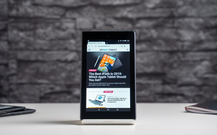 Amazon Fire 7 with Chrome