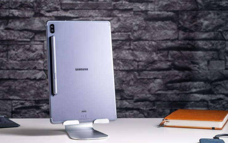 Samsung Galaxy Tab S6 back with S Pen
