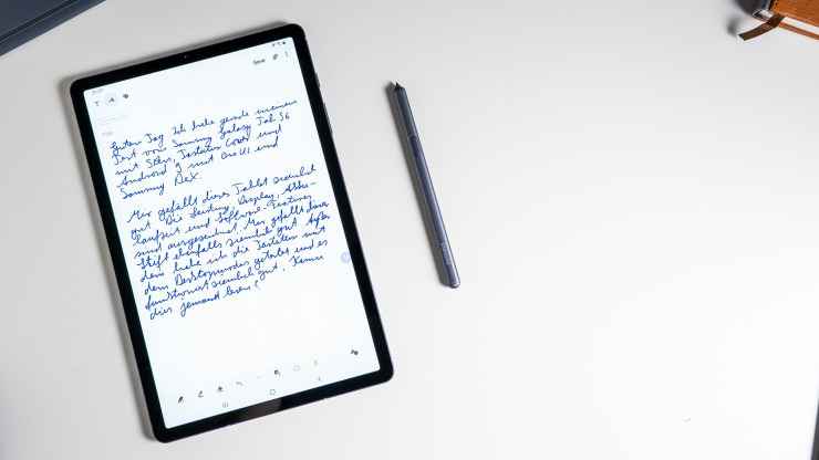 Samsung Galaxy Tab S6 with S Pen