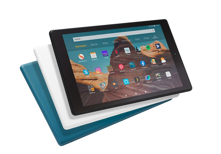 Amazon Fire HD 10 2019 Colors