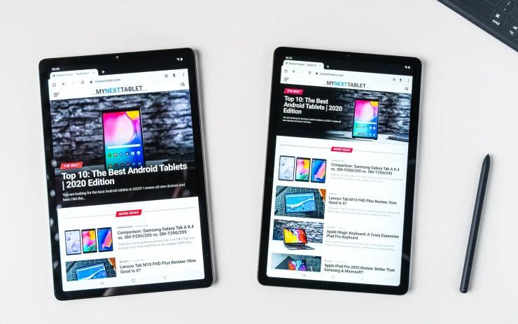 Samsung Galaxy Tab S6 Lite VS S5e Chrome